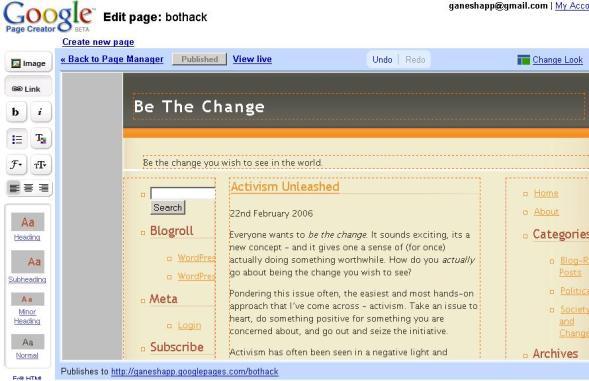 googlepages