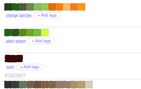 Pull Color Palettes from Images using Pictaculous